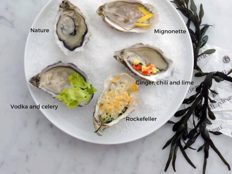 5 darling oyster toppings to share this Valentines Day