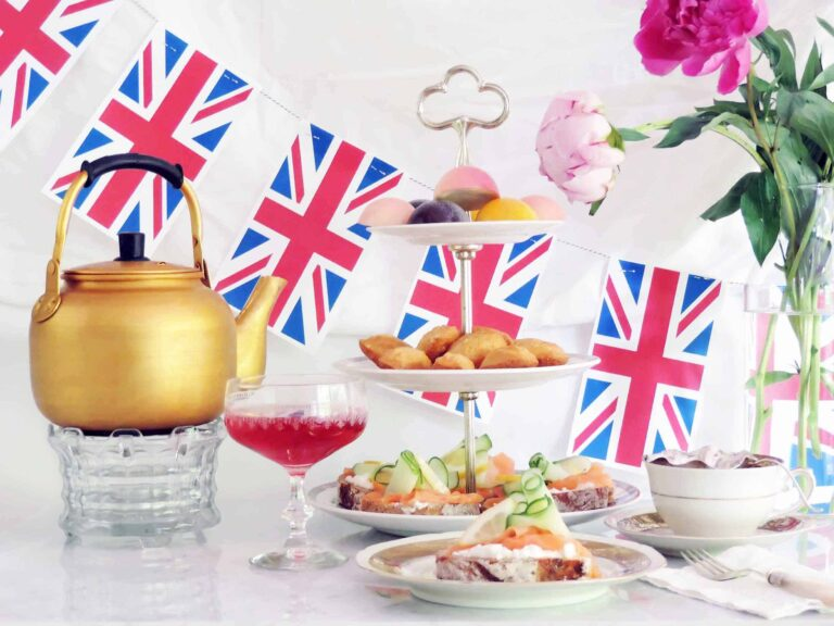 A Royal Wedding Tea Party at home