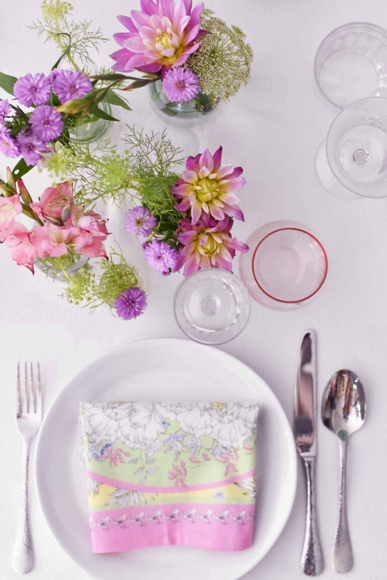7 tips how to set a stunning table on a budget