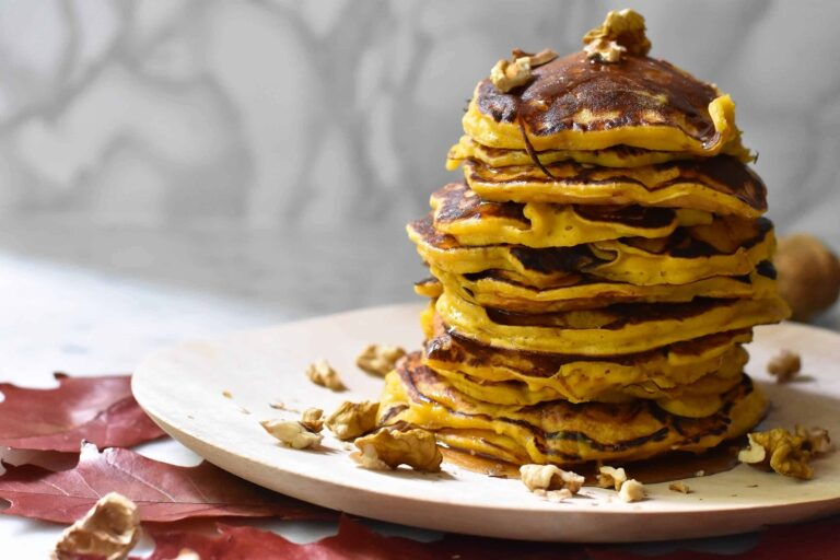 My ultimate pumpkin pancakes