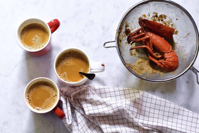 My lobster bisque for a rainy day