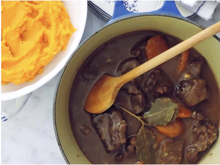 My winter veg and venison stew