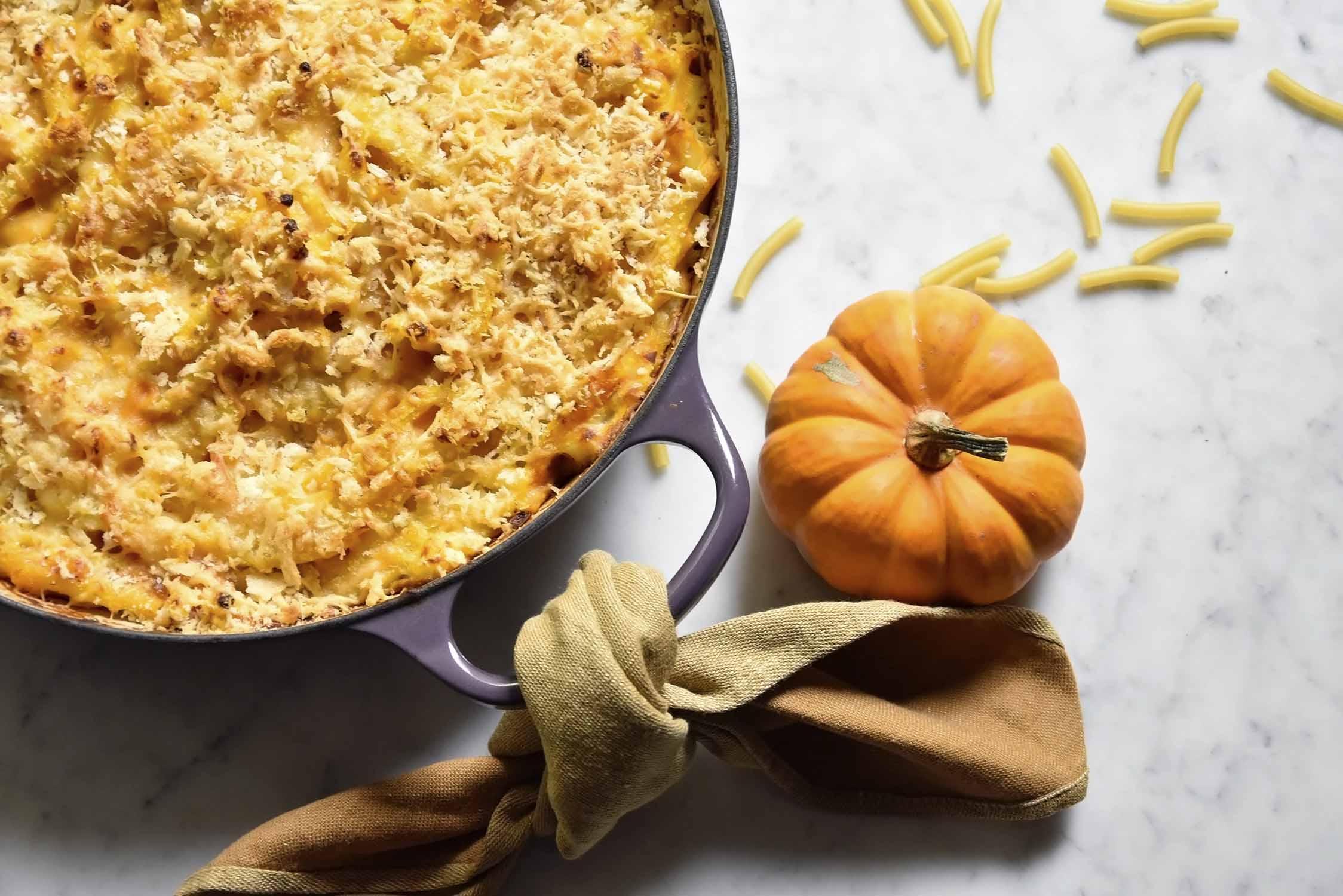 My pumpkin mac & cheese