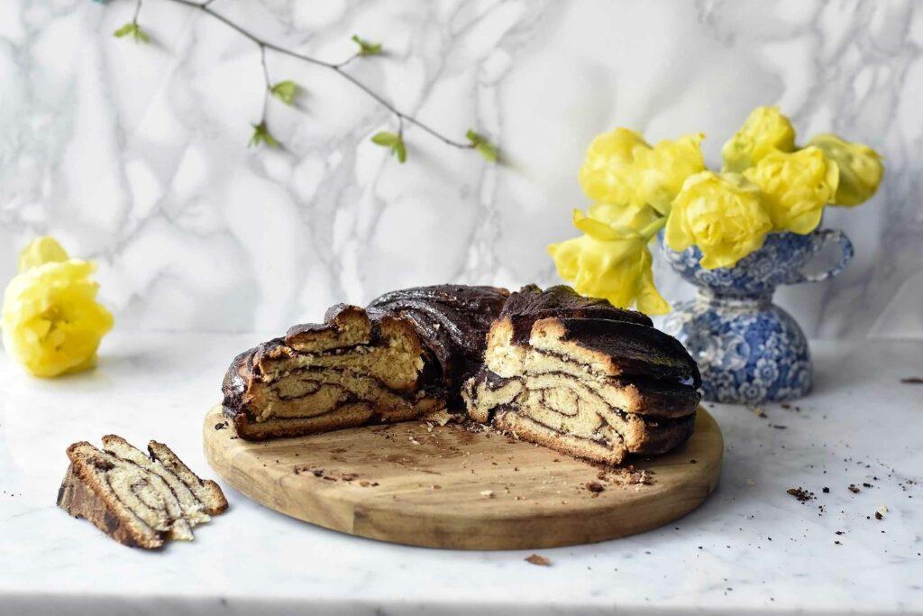 My swirly chocolate babka