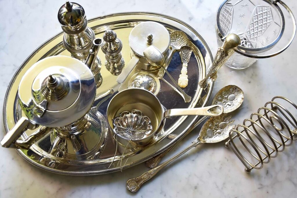 My top tips for collecting and caring for vintage silver tableware