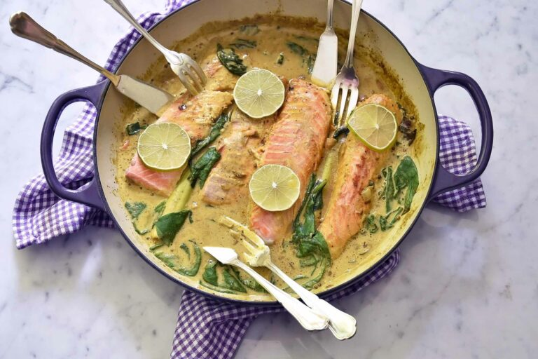 My fish curry in a hurry